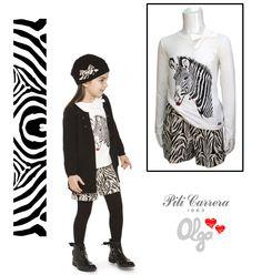 Moda infantil niñas, colección Pili Carrera otoño-invierno 2014-2015.