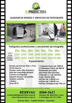 Estudio Profesional De Fotografía (9mts X 7mts) - Saavedra. - Capital Federal - $ 200,00 en MercadoLibre