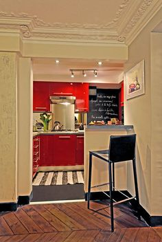 French Bistro Kitchen On Pinterest
