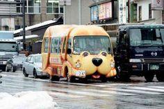 Cute Japanese van.