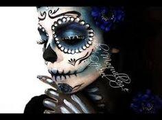santa muerte makeup - Google Search