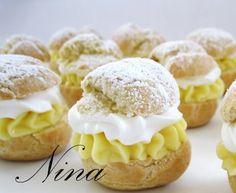 banana cream puffs!