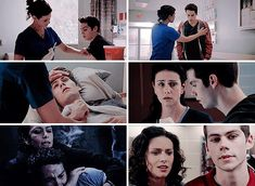 i love it when melissa takes care of stiles like he's a helpless little boy that needs a mother figure to help him do motherly things