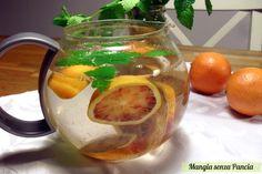 Tisana digestiva menta e arancia: la menta per aiutare la digestione e l'arancia per dare un gusto squisito di agrumi