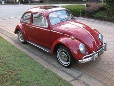 1966 Volkswagen Beetle 1300 with Sunroof. Volkswagon Bug, Vw Volkswagen, Custom Vw Bug, Combi Wv, Vw Super Beetle, Vw Cars, Vw Camper, Vw Beetles, Street Rods