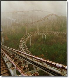Takakonuma Greenland Park in Japan. The amusement park first opened in Hobara in 1973 but abruptly closed only two years later. Some say it was because of poor ticket sales, but local lore insists the park was forced to shut down after its rides were responsible for a number of accidental deaths.