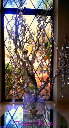 Sale Bling Manzanita Tree Centerpiece Silver by FashionProposals, $39.00