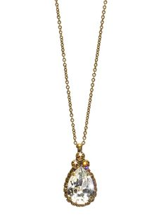 Sweet Sparkle Necklace in Neutral Territory by Sorrelli - $80.00 (http://www.sorrelli.com/products/NCM19AGNT)