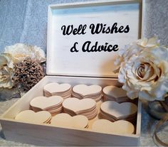 Neat and unique reception idea. Customized Large Wedding Guest Book Box by RusticNaturalBeauty, $99.00
