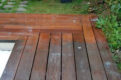 How to clean and stain outdoor wood?