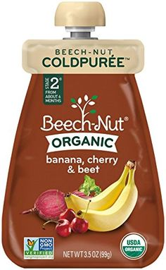 BeechNut Coldpure Stage 2 Organic Banana Cherry  Beet 35 Ounce Pack of 12 ** Be sure to check out this awesome product.
