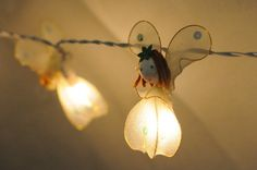 I found '20 x fairy angel snow white butterfly string light garland patio romantic kid room display' on Wish, check it out!