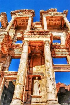 Library of Celsus, Selcuk Turkey