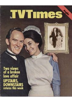 Gordon Jackson and Jean Marsh in Upstairs Downstairs. London Weekend Television, 1972 Color Television, Prince Caspian, Broken Love, Tv Land, Tv Times, Book Tv, Tv Guide, Family Memories, Classic Tv