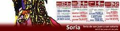 ¡Vive el toreo en Soria!¡Castella, Perera, Talavante, Cayetano, Padilla, Fandiño....!¡Entradas ya a la venta! http://www.toroticket.com/123-entradas-toros-soria