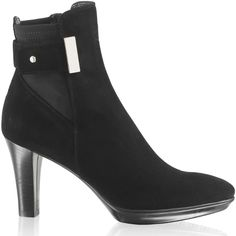 Aquatalia 'Ruby-Dry' Platform Ankle Boot in Black Suede as seen on Kate Middleton, The Duchess of Cambridge Kate Middleton Shoes, Shoes For Less, Platform Ankle Boots, Princess Kate, Duchess Of Cambridge, Black Suede, Beautiful Homes, Booty, Heels