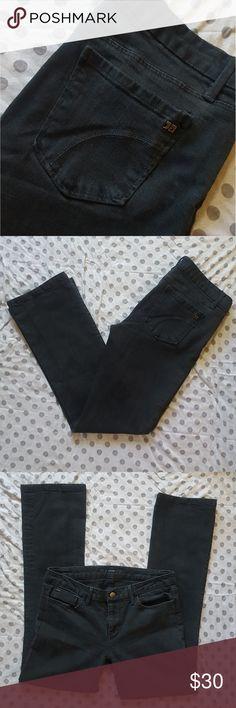 "WEEKEND SALE Joe's Black Straight Leg Jeans- Honey Good used condition. Fit: Honey  Inseam: 30"". Light wear on inner thighs (as shown) Joe's Jeans Jeans Straight Leg"