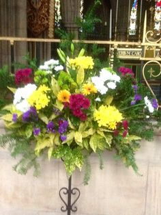 St Michael and All Angels - summer arrangements