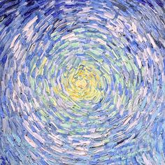 eyesthebye:  lonequixote: Road with Cypresses (detail) by Vincent van Gogh (via…