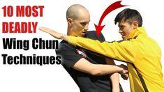 10 Most Dangerous Wing Chun Techniques Wing Chun Techniques, Krav Maga Techniques, Martial Arts Techniques, Self Defense Techniques, Martial Arts Moves, Self Defense Martial Arts, Martial Arts Workout, Boxing Workout, Wing Chun Martial Arts