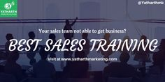 Your sales team not able to get business? Best #salestraining is needed to get more business. Add us on Skype: ceo.yms  #businessdevelopment #businessgrowth