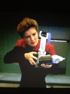 Voyager is my Collective Captain Janeway, Kate Mulgrew, Star Trek Voyager, Orange Is The New Black, Fictional Characters, Spacecraft, Fantasy Characters