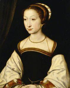 1535-1540 Corneille de Lyon - Portrait of an Unknown Young Lady