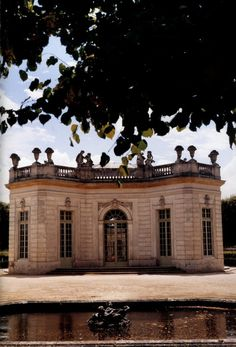 The French Pavilion of Marie Antoinette's Petite Trianon castle, at Versailles