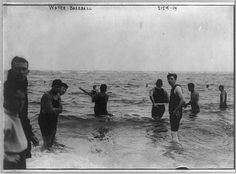 Water baseball Digital ID: (b&w film copy neg.) cph 3b11737 http://hdl.loc.gov/loc.pnp/cph.3b11737 Reproduction Number: LC-USZ62-64142 (b&w film copy neg.) Repository: Library of Congress Prints and Photographs Division Washington, D.C. 20540 USA