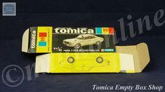 TOMICA 099B MAZDA LUCE AP CUSTOM | 1/62 | ORIGINAL BOX ONLY | 1976 - 1983 JAPAN Subaru Cars, Mazda, Diecast, Japan, The Originals, Box, Snare Drum, Japanese