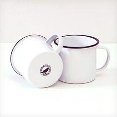 Enamelware 12 oz. Coffee Mug, Black Rim Crow Canyon Home http://www.amazon.com/dp/B00ATT3BG2/ref=cm_sw_r_pi_dp_PRtTub1TV2199