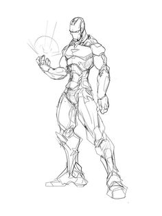 Marvel Iron man by Sketchydeez Sketch reference illustration Drawing Superheroes, Marvel Drawings, Comic Books Art, Comic Art, Book Art, Ironman Sketch, Drawing Sketches, My Drawings, Thanos Avengers