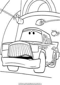 cars 2 ausmalbilder kostenlos ausdrucken - ausmalbilder für kinder | ausmalbilder zum ausdrucken