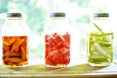 Fruit Infused Liquor for Summer Cocktails