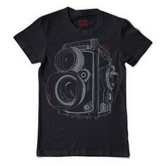Twin Lens Reflex Tee Black, $24, now featured on Fab.