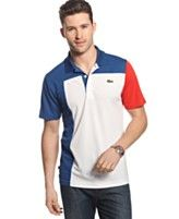 Lacoste Shirt, Superdry Colorblocked Polo Shirt