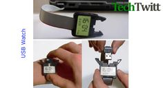 USB Watch That Tells Time – A Geeky Gadget