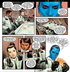 """on Twitter: """"Hey did you guys know Finn and Rey once tried to fuck Eli and Thrawn over in a game of Texas Hold Em… """" Star Wars Comics, Star Wars Humor, Star Wars Art, Grand Admiral Thrawn, Star Wars Canon, High Ground, Artwork Images, Bad Feeling, Star Wars Rebels"""