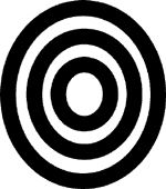 Chief of the West African adinkra symbols, Adinkrahene symbolizes greatness, charisma and leadership.  It's the symbol for AWESOME.