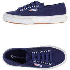 Superga Sneakers ($76) ❤ liked on Polyvore featuring shoes, sneakers, dark purple, superga shoes, superga, round toe shoes, flat shoes and rubber sole shoes