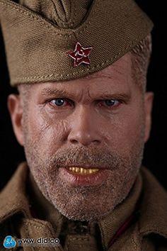 Amazon.co.jp | ロシアソ連軍兵士 レニングラード スナイパー狙撃手 Koulikov ミリタリーフィギュア1/6 | ホビー 通販
