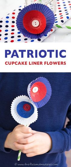 Patriotic Cupcake Li