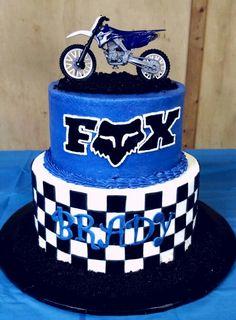 Dirt Bike cake #fox