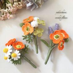 Crochet Skull, Crochet Art, Thread Crochet, Crochet Motif, Crochet Flower Tutorial, Crochet Flower Patterns, Crochet Flowers, Fabric Flowers, Crochet Bouquet