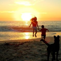 Only locals know just how great the Quinns Rocks Dog Beach is! Like to congratulate Tracey R. on her runner up photo! #CaptureTheCover #beach #doggybeach #sunset