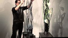 Accent Decor - this week's video features Hitomi Gilliam utilizing aluminum wire and the Josie Candleholder to create a fun and fabulous design that you c. Diy Wedding Decorations, Flower Decorations, Flora Design, Flower Video, Water Beads, Arte Floral, Ikebana, Flower Designs, Floral Arrangements