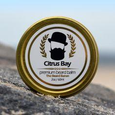 Citrus Bay Premium Beard Balm