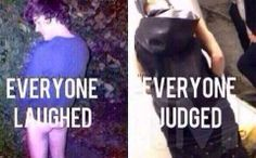 Oh I'm sorry. He's Justin Bieber so he has to be judged but if anyone else did it, it's totally ok. SOCIETY IS AWFUL