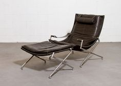 Gerard+van+den+Berg+for+Rohe+DES2021+Lounge+Chair+and+Ottoman