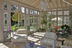 Conservatory  - beautiful windows and doors